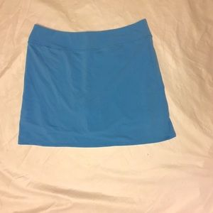 Adidas Climalite Golf Skort Light Blue M NWT